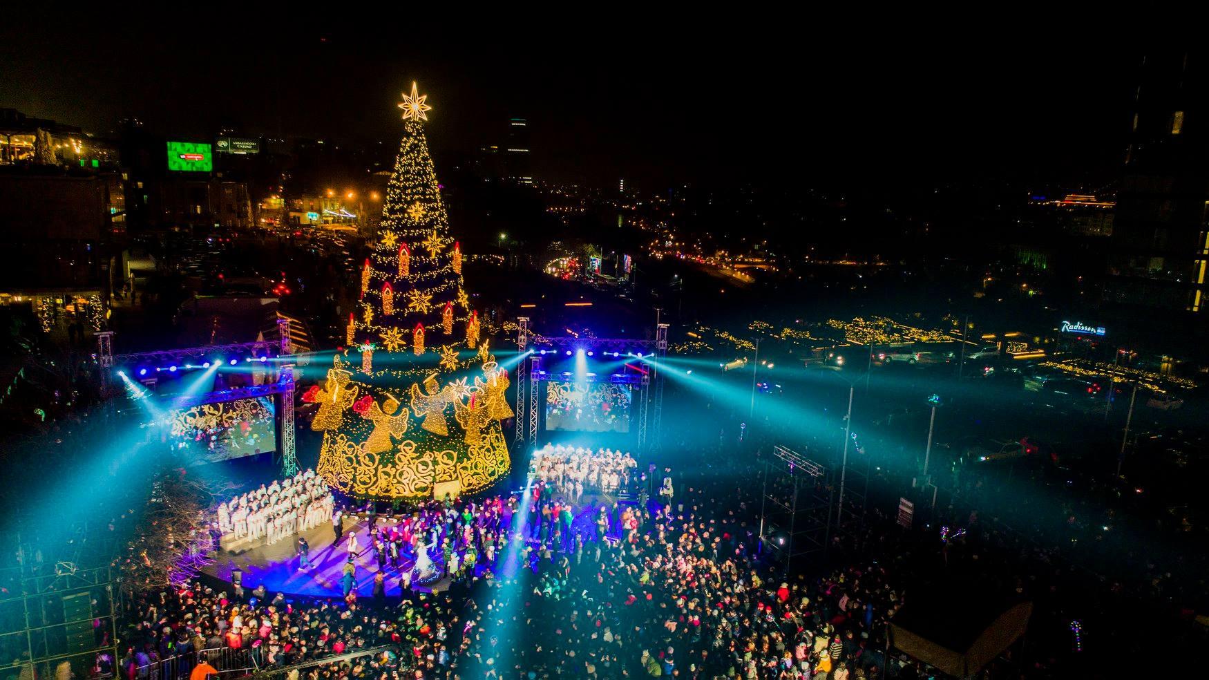 Tbilisi New Year #новости 2021 год, коронавирус в Грузии, мэрия Тбилиси, новый год