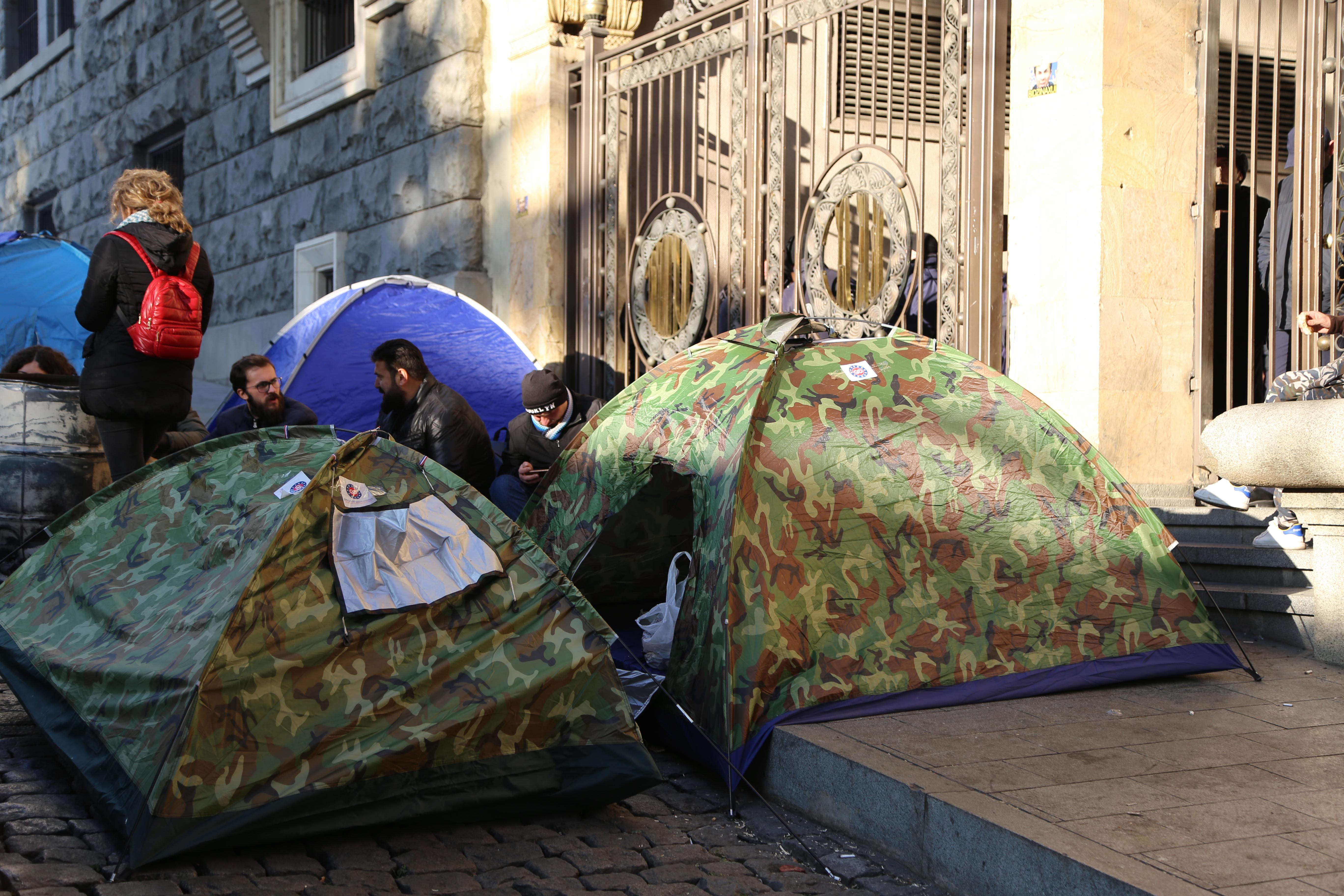 Akcia_Parliament Photo: Doana Shanava SOVA