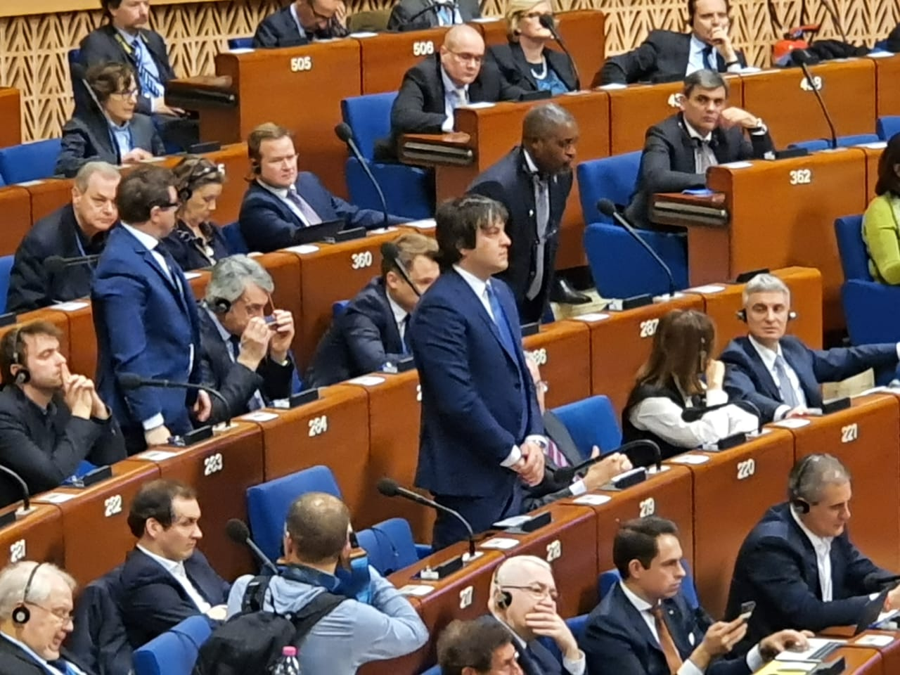 873492 #новости Ираклий Кобахидзе, парламент Грузии, ПАСЕ, СОВЕТ ЕВРОПЫ