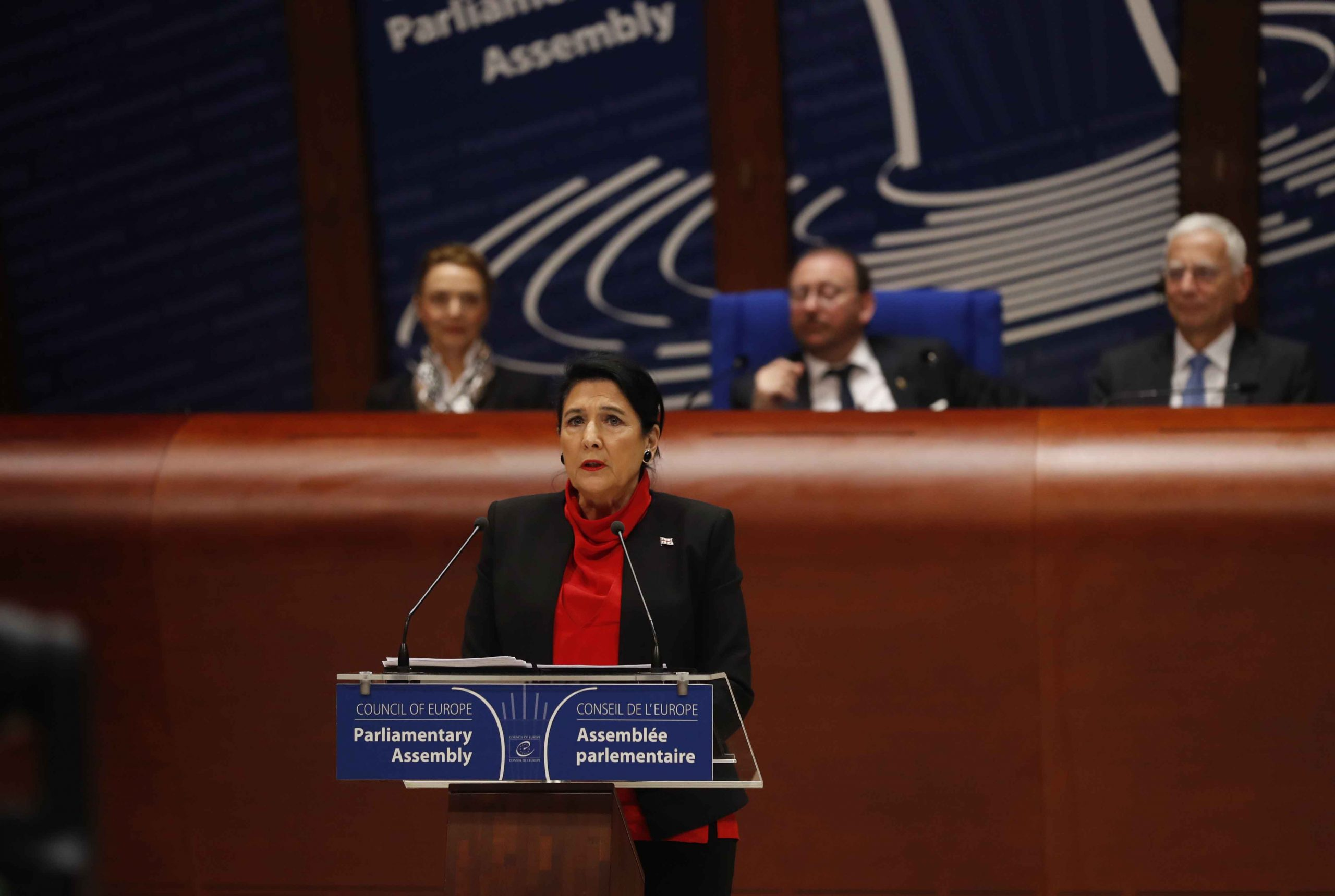 Salole Zourabishvili 48 scaled #новости Грузия-ПАСЕ, ПАСЕ, Саломе Зурабишвили, СОВЕТ ЕВРОПЫ