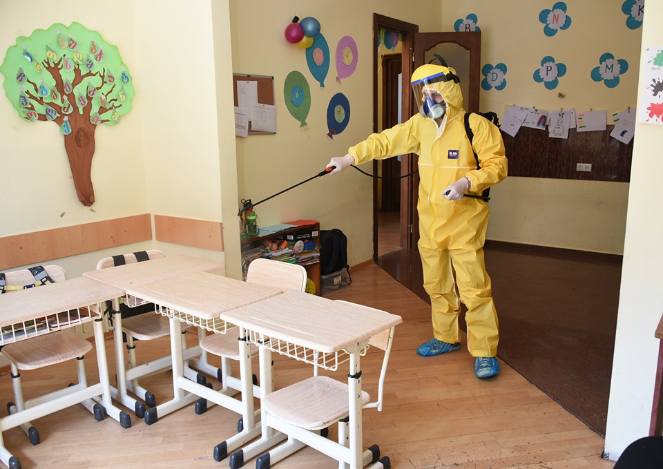 Coronavirus 3 #новости коронавирус, министерство образования Грузии, первый канал Грузии, школы