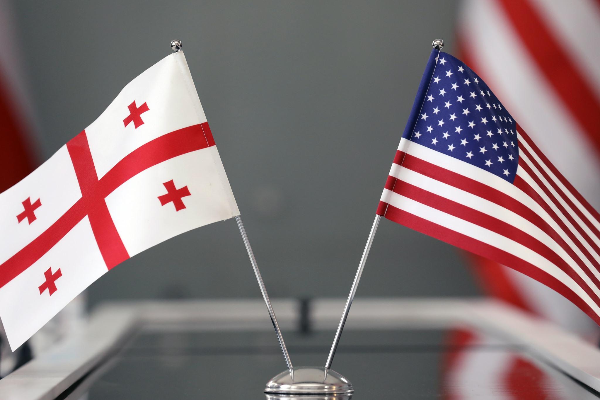 Georgia USA Flags 4 Ирма Инашвили Ирма Инашвили