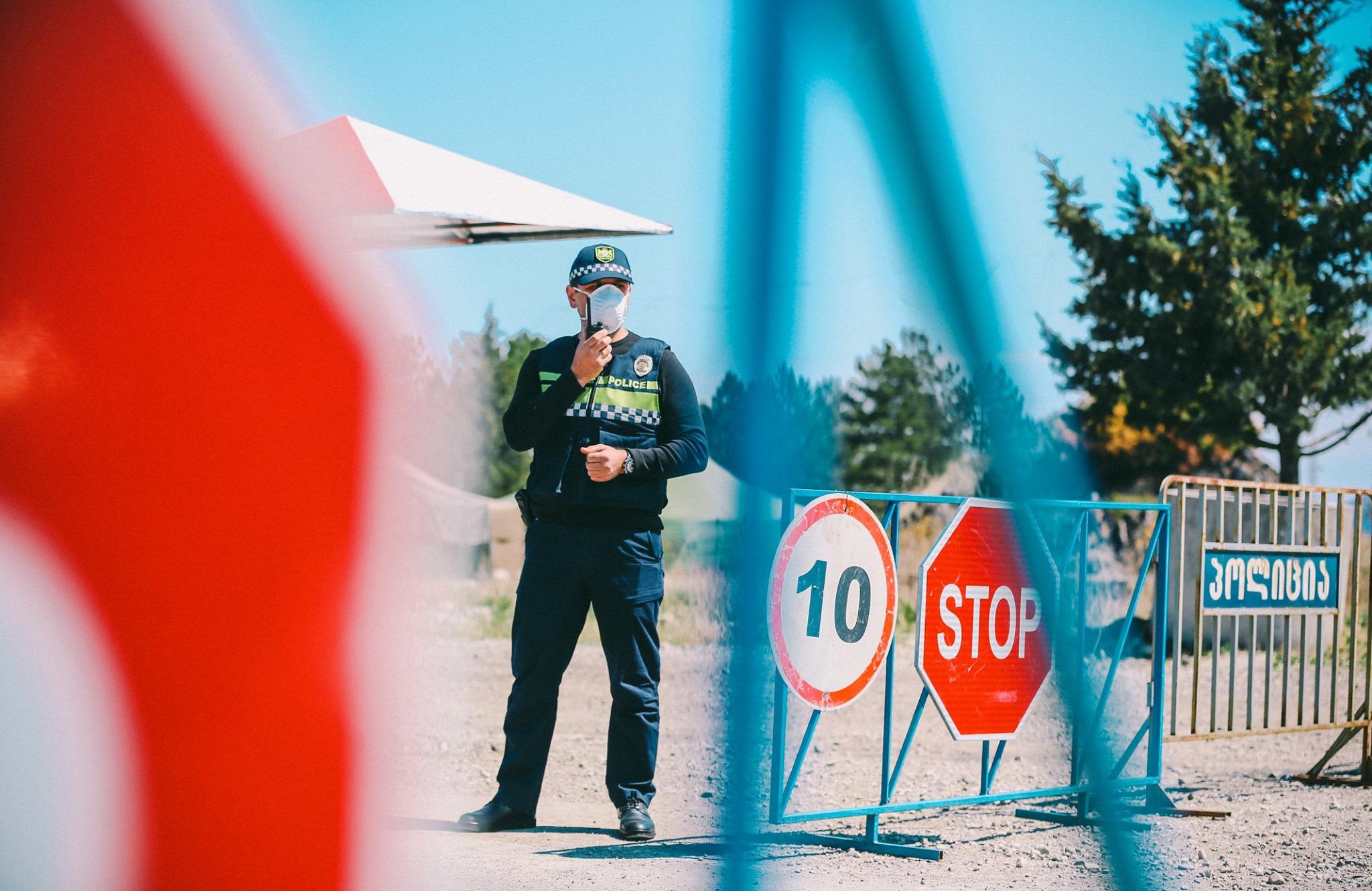 COVID Police 2 #новости коронавирус, коронавирус в Грузии, Тетрицкаро, Шота Рехвиашвили