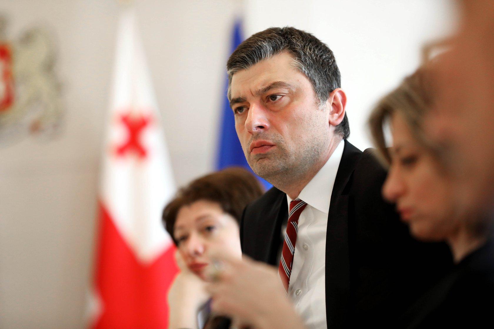 Giorgi Gakharia 29 #новости Георгий Гахария, Премьер-министр Грузии, теракт в Вене