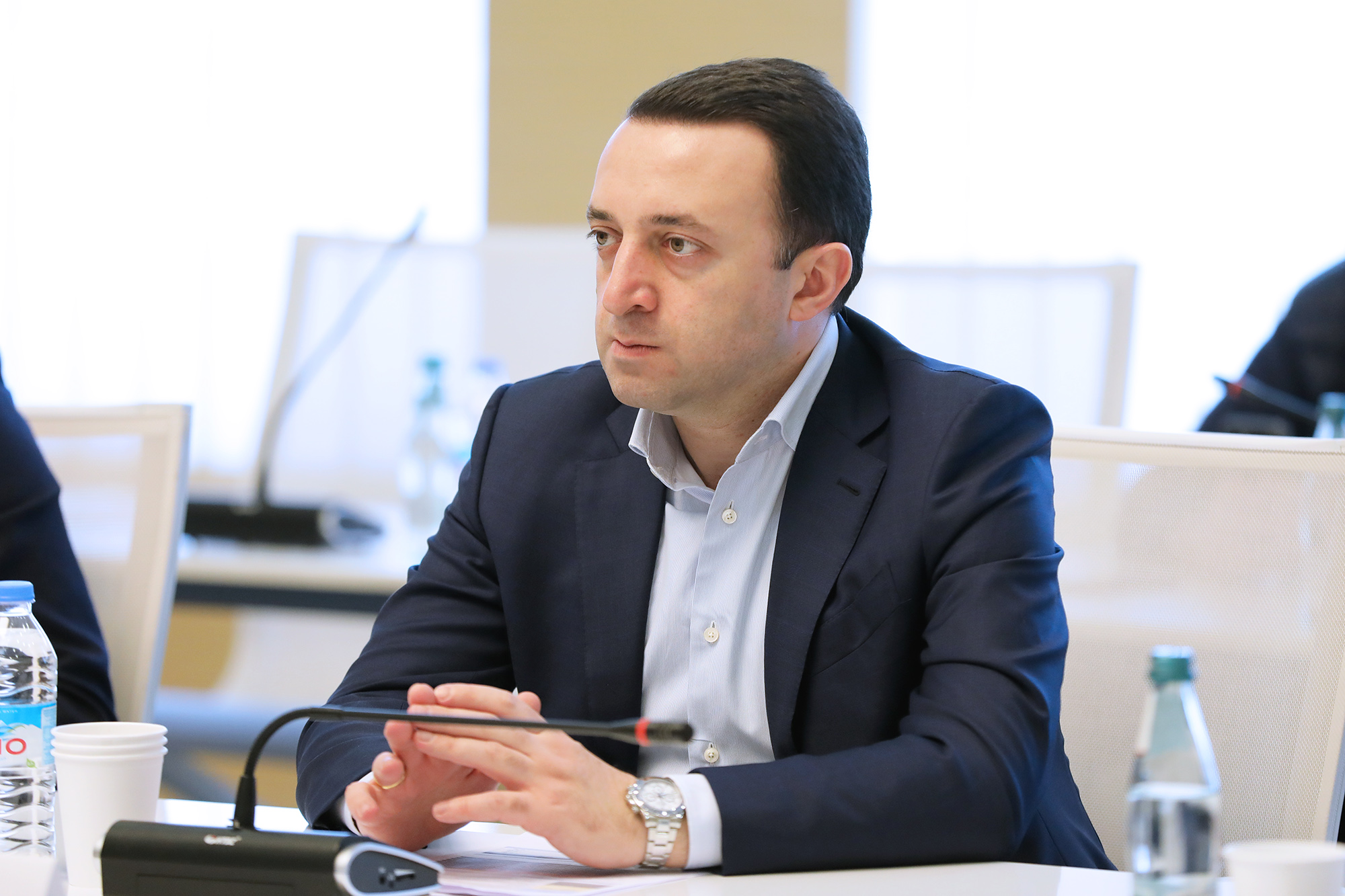 Irakli Gharibashvili 16 #новости Грузия-Россия, Ираклий Гарибашвили, МИД РФ
