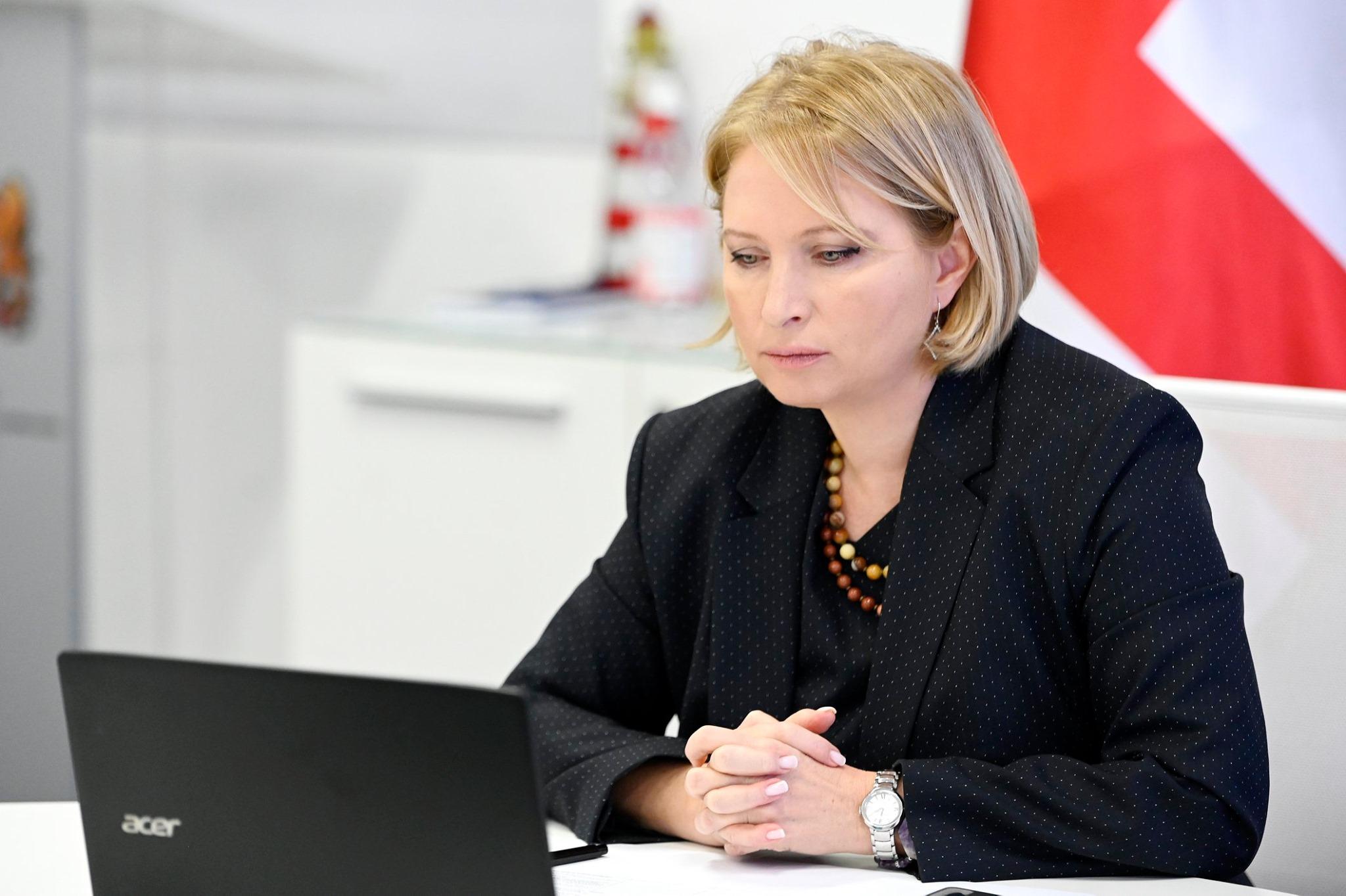 Natia Turnava 16 1 министр экономики и устойчивого развития Грузии министр экономики и устойчивого развития Грузии