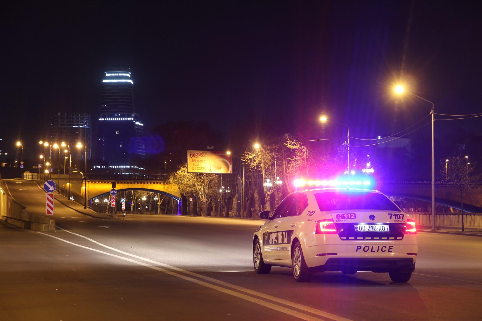 Police 13 #новости Covid-19, комендантский час, коронавирус, коронавирус в Грузии, Пасха