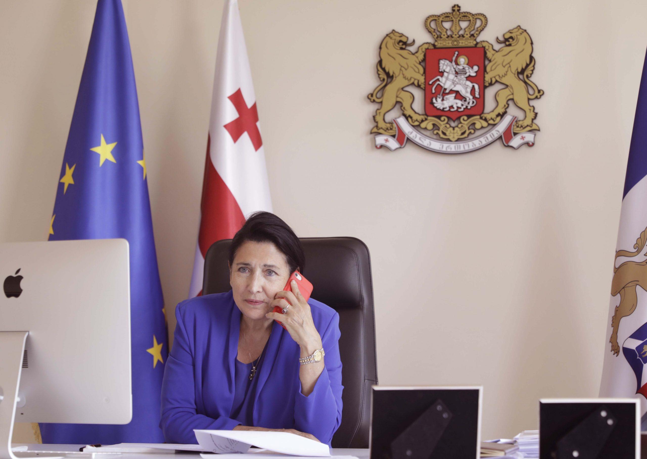 Salome Zourabishvili scaled #новости Грузия-Хорватия, коронавирус, Хорватия