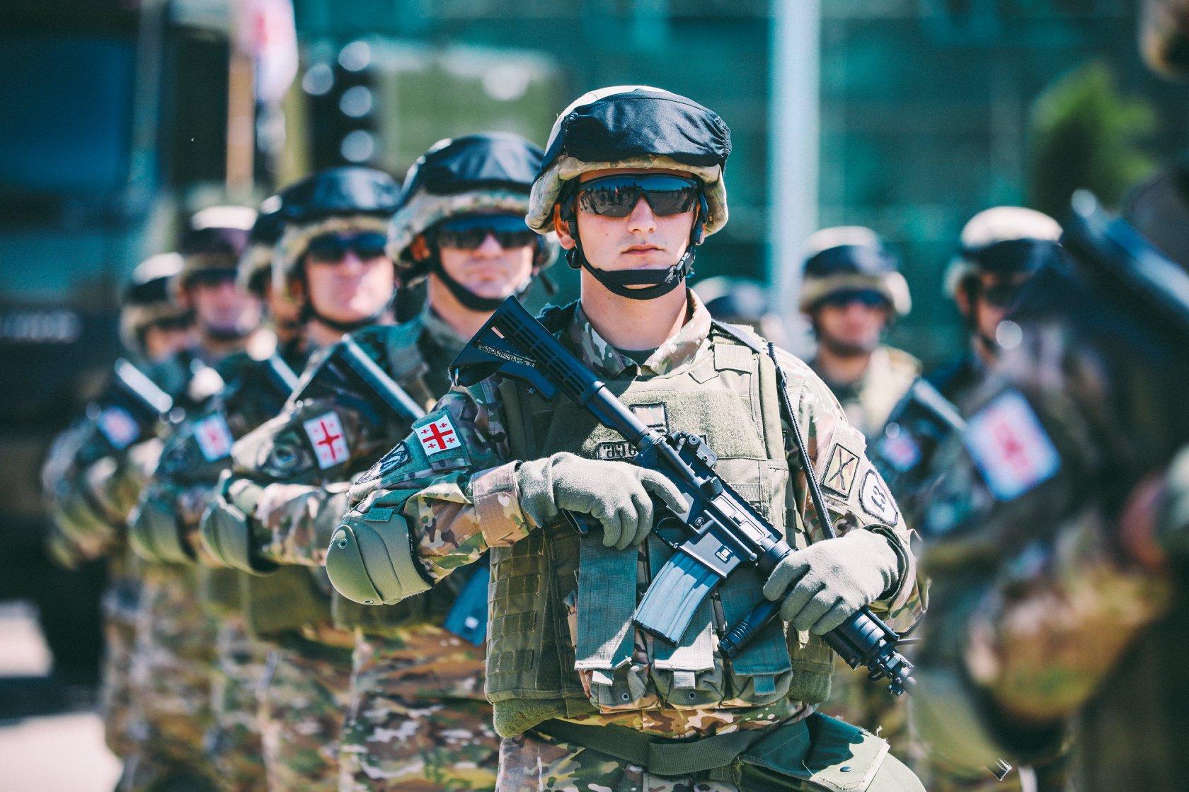 Georgia Army Military 57 армия армия