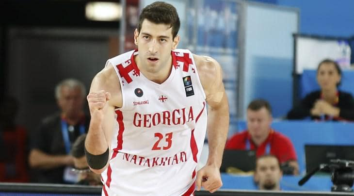 Tornike Shengelia баскетбол баскетбол