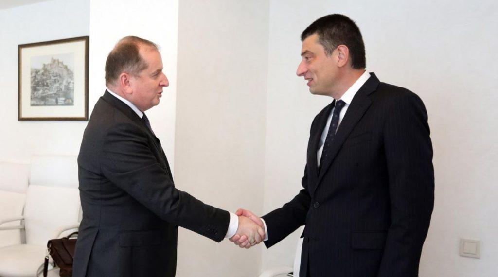 gakharia meeting Миссия наблюдателей ЕС Миссия наблюдателей ЕС