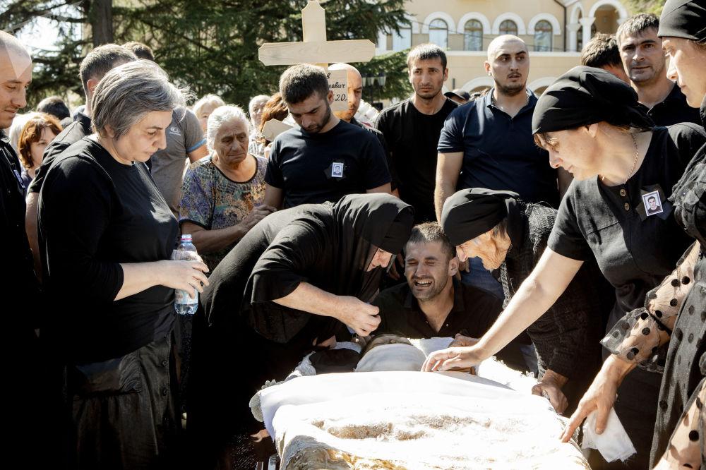 Джабиев похороны