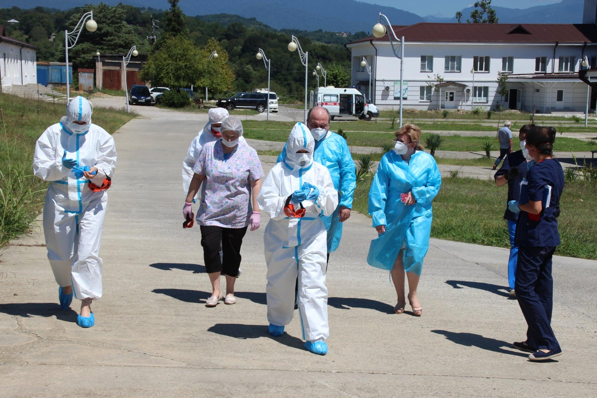 Abkhazia Covid #новости Абхазия, Аслан Бжания, коронавирус
