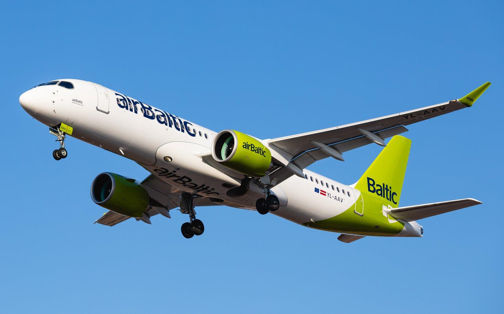 AirBaltic #новости Airbaltic, авиарейсы, Латвия, Рига