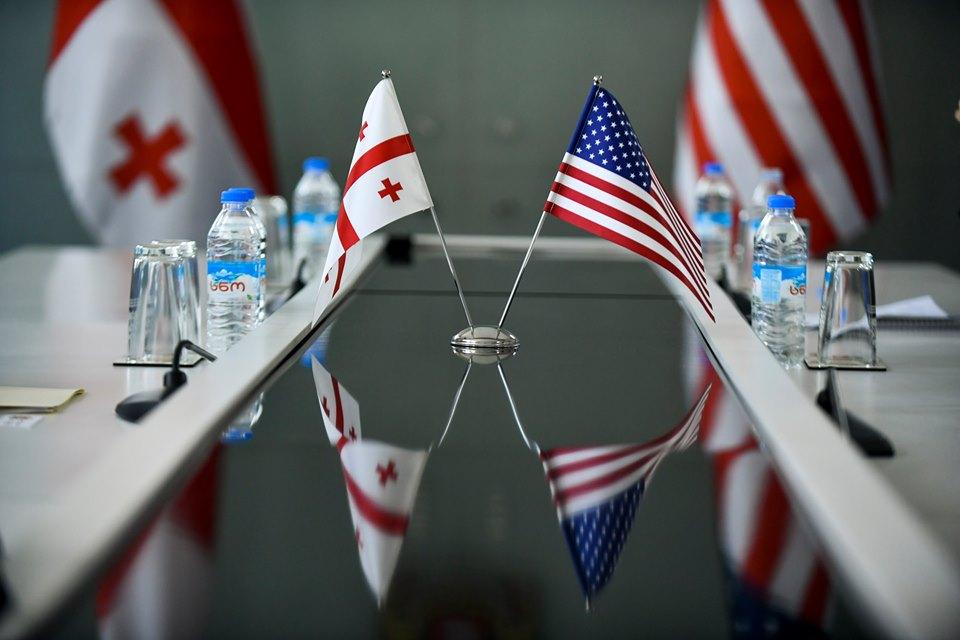 Georgia USA Flags Госсекретарь США Госсекретарь США
