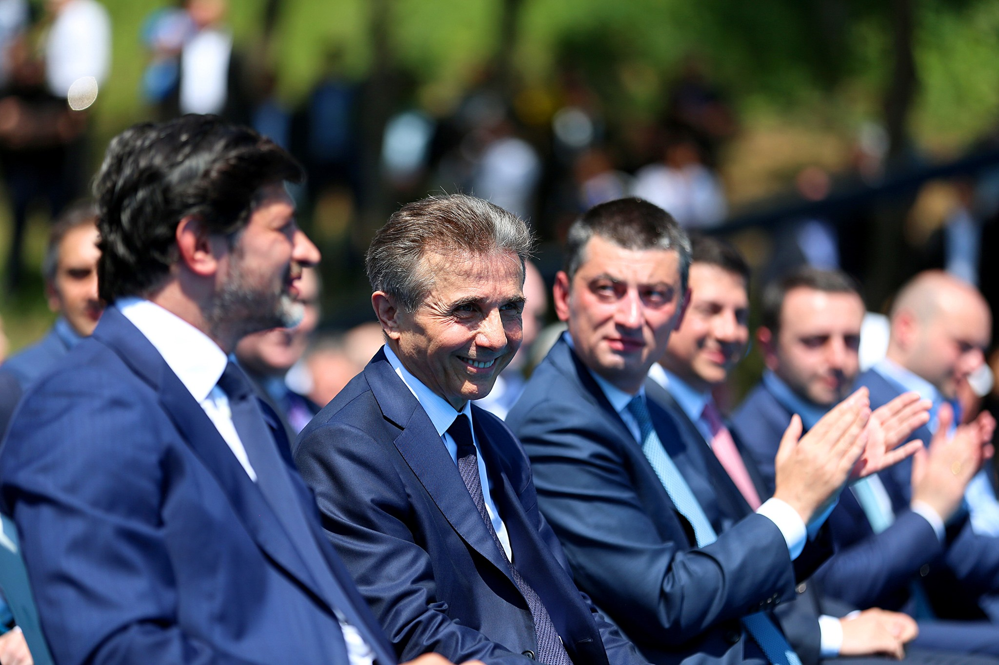 Kaladze Ivanishvili Gakharia #новости Георгий Гахария, Георгий Ходжеванишвили, Грузинская мечта