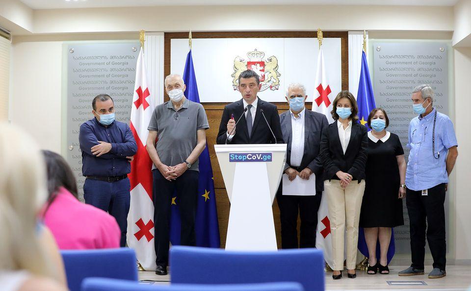 gakharia tikaradze #новости Георгий Гахария, коронавирус в Грузии