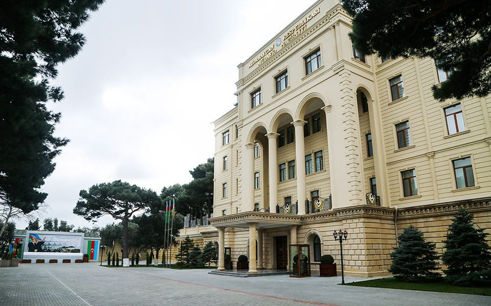 ministry of defence azerbaijan вооруженное столкновение вооруженное столкновение