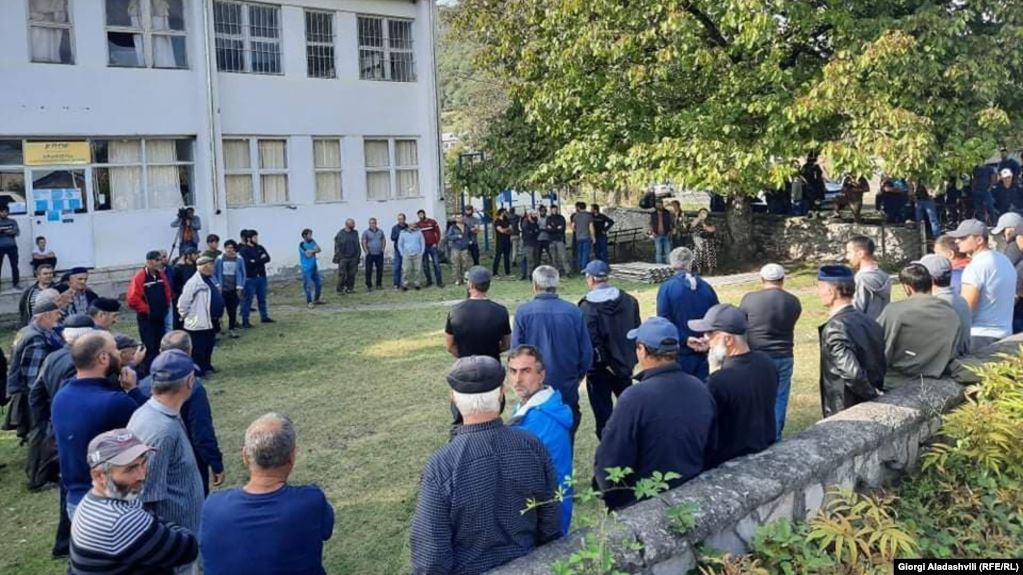 pankisi #новости акция, ГЭС, Панкисское ущелье, покушение на убийство, Шмаги Мутошвили