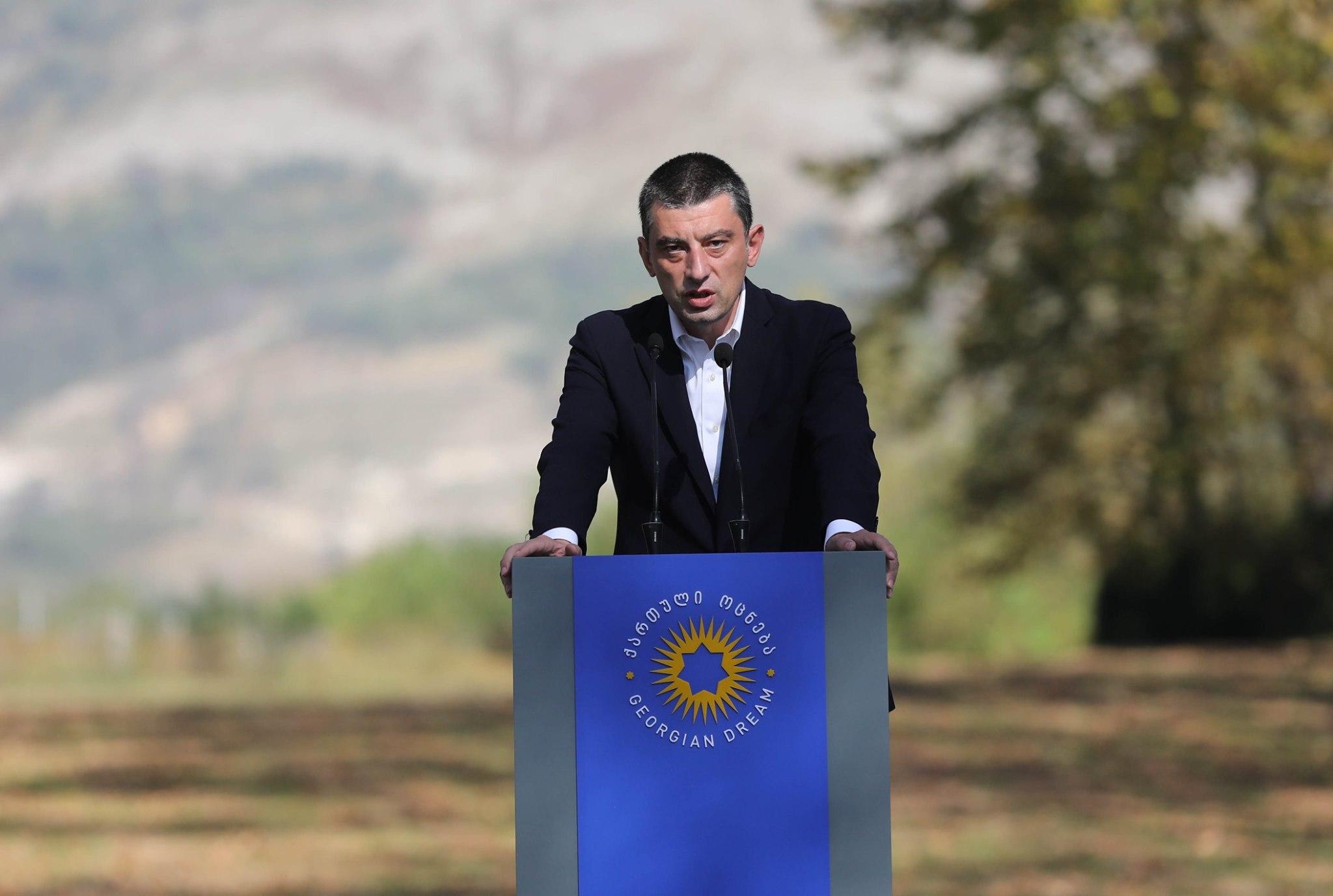 Georgi Gakharia 232 #новости Выборы 2020, Георгий Гахария