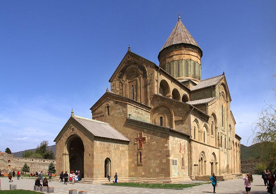 Svetitskhoveli Cathedral in Georgia Europe Мцхета Мцхета