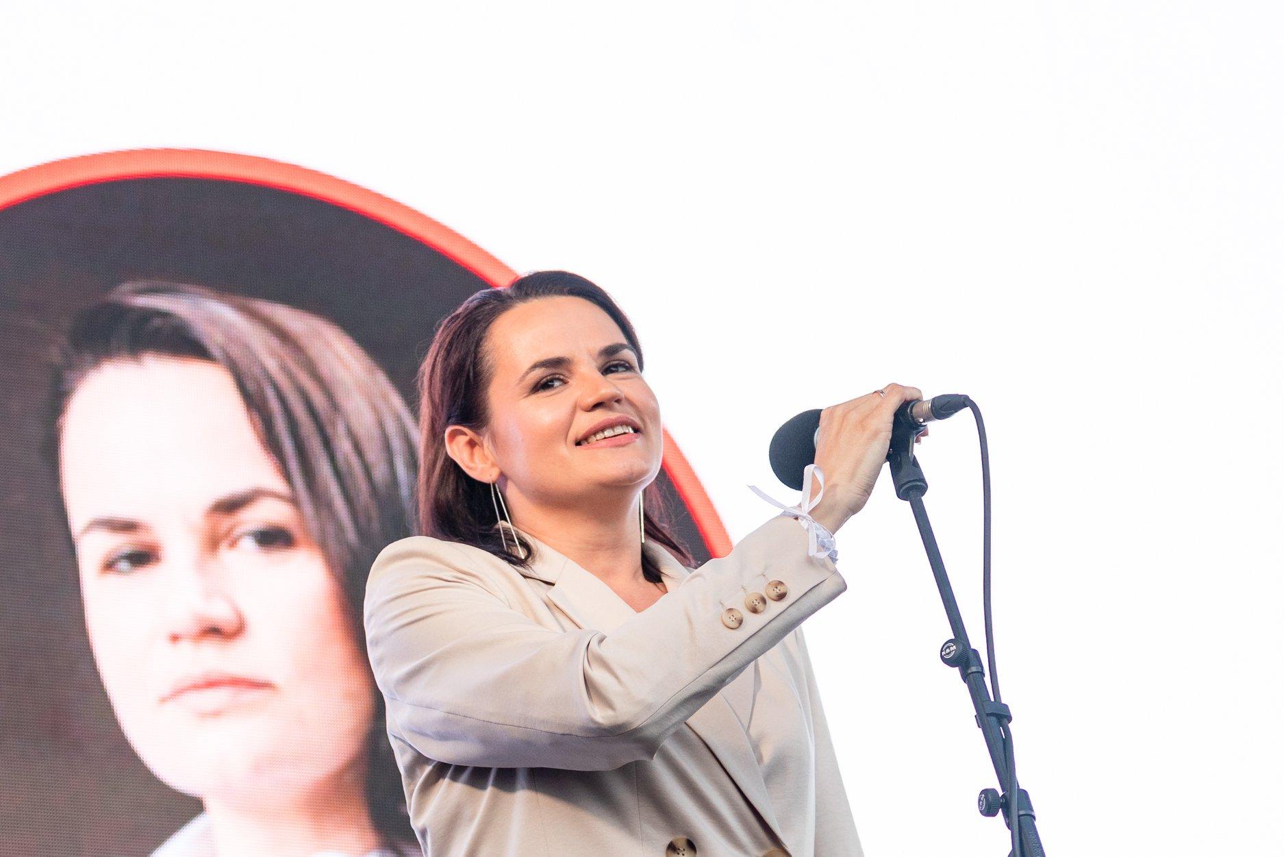Svetlana Tikhanovskaya Тбилиси-Минск Тбилиси-Минск