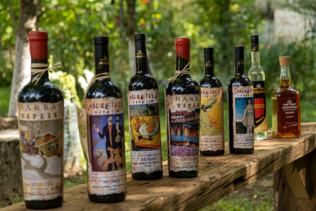 Tetritskaro 2 вино вино