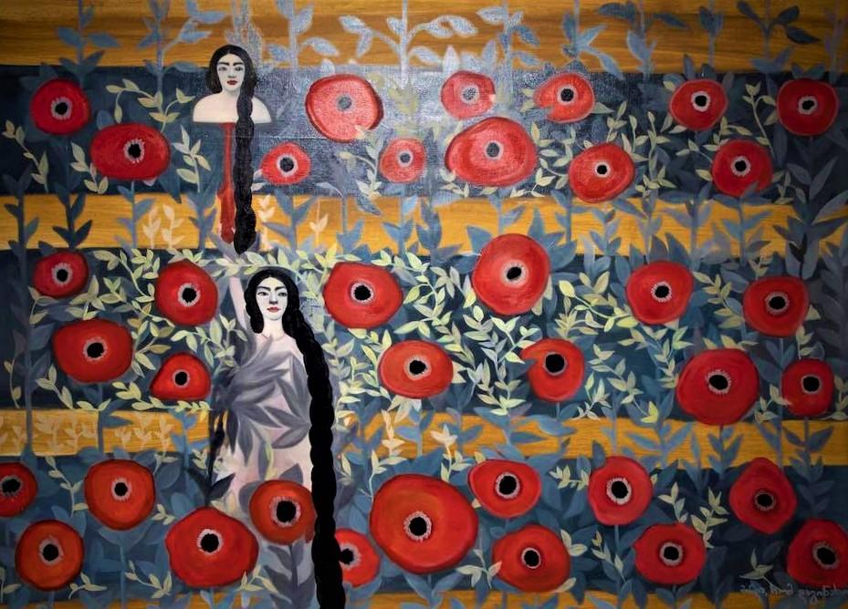 123516454 3511208835580984 8659678037666953157 n #новости Gamrekeli Modern, выставка, искусство, культура, Сандро Чубинидзе, Софо Черкезишвили, Тенго Аситашвили