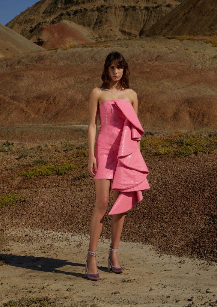 Маленькое розовое платье ANOUKI