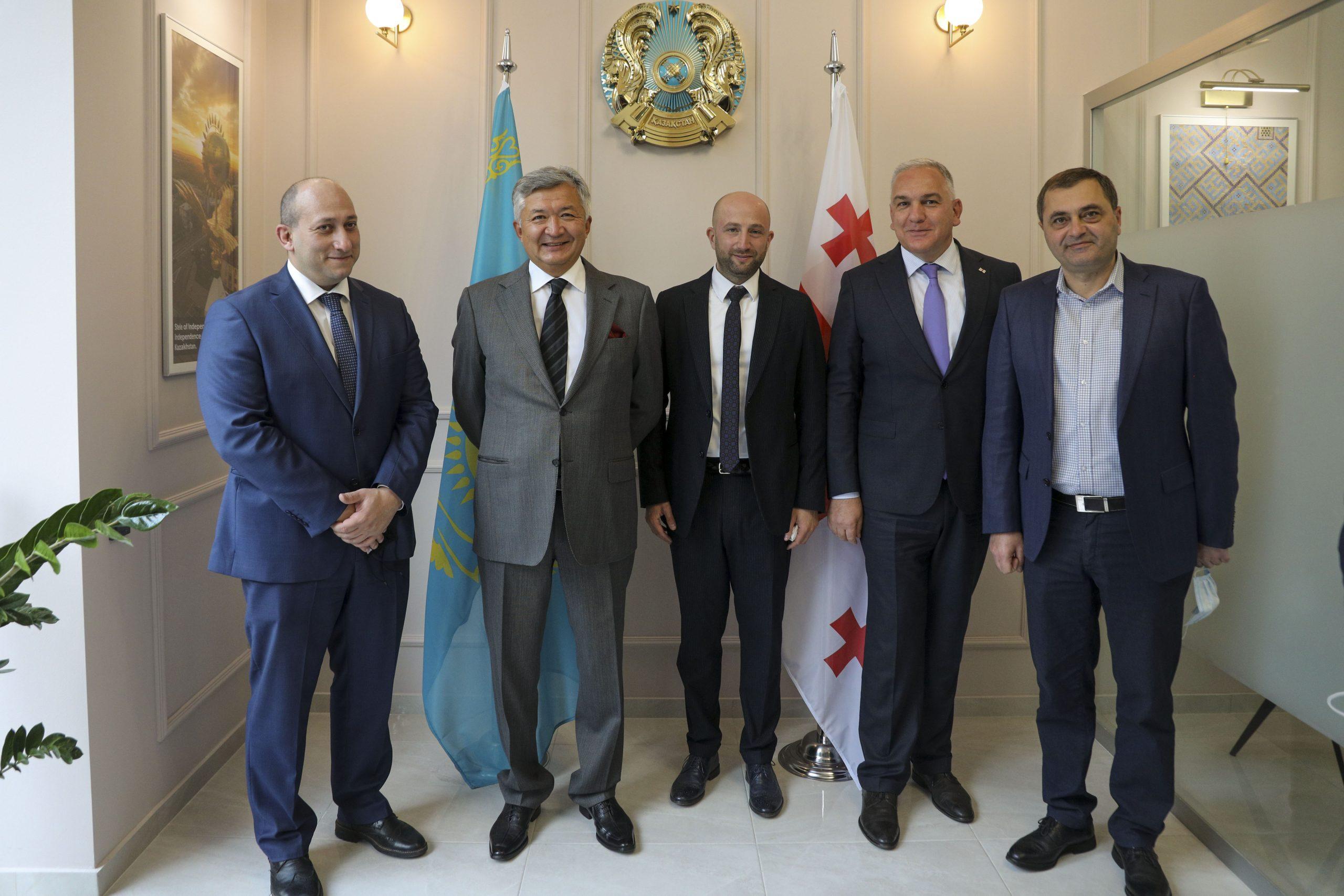 Cover scaled #новости Александр Хвтисиашвили, Бауржан Мухамеджанов, Георгий Джахуташвили, Грузия-Казахстан, Казахстан, консульство