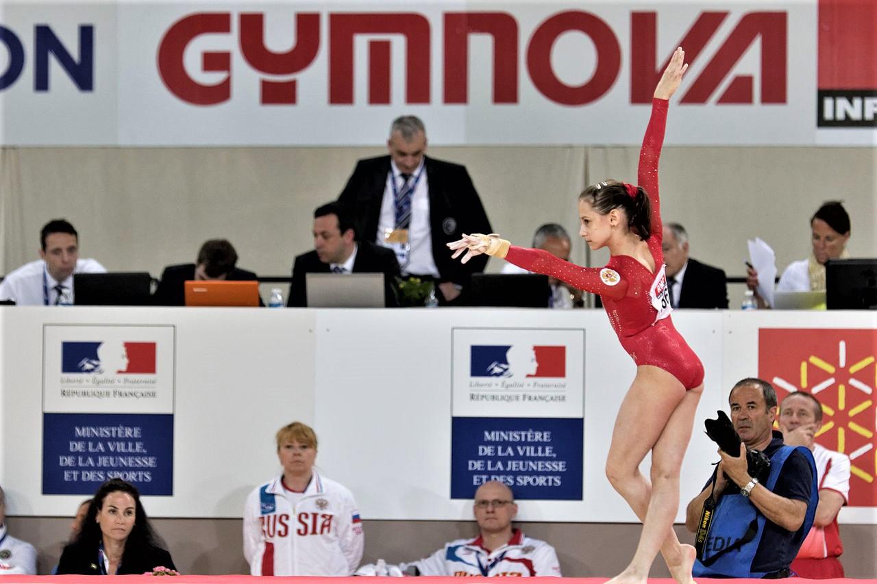 Maria Kharenkova #новости Бесарион Гамсахурдия, гимнастика, Мария Харенкова, спорт, Федерация гимнастики Грузии