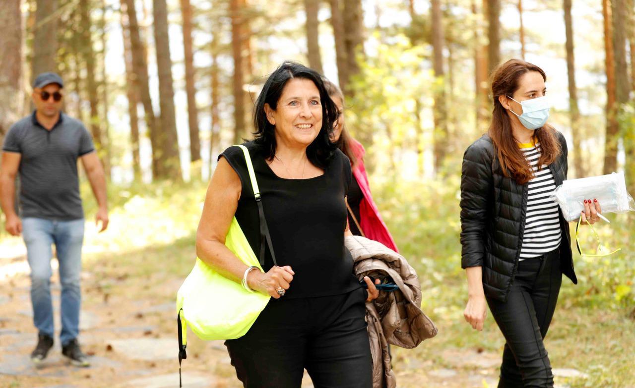 Salome Zourabishvili 5241 #новости Саломе Зурабишвили, туризм