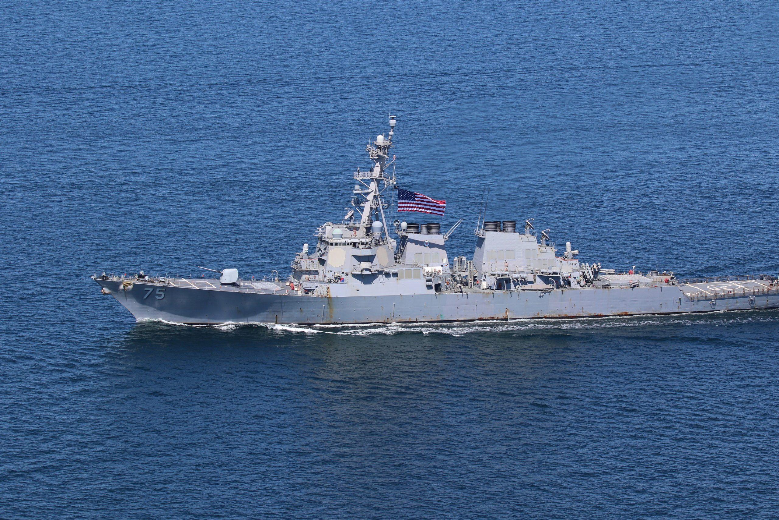 USS Donald Cook scaled Черное море Черное море