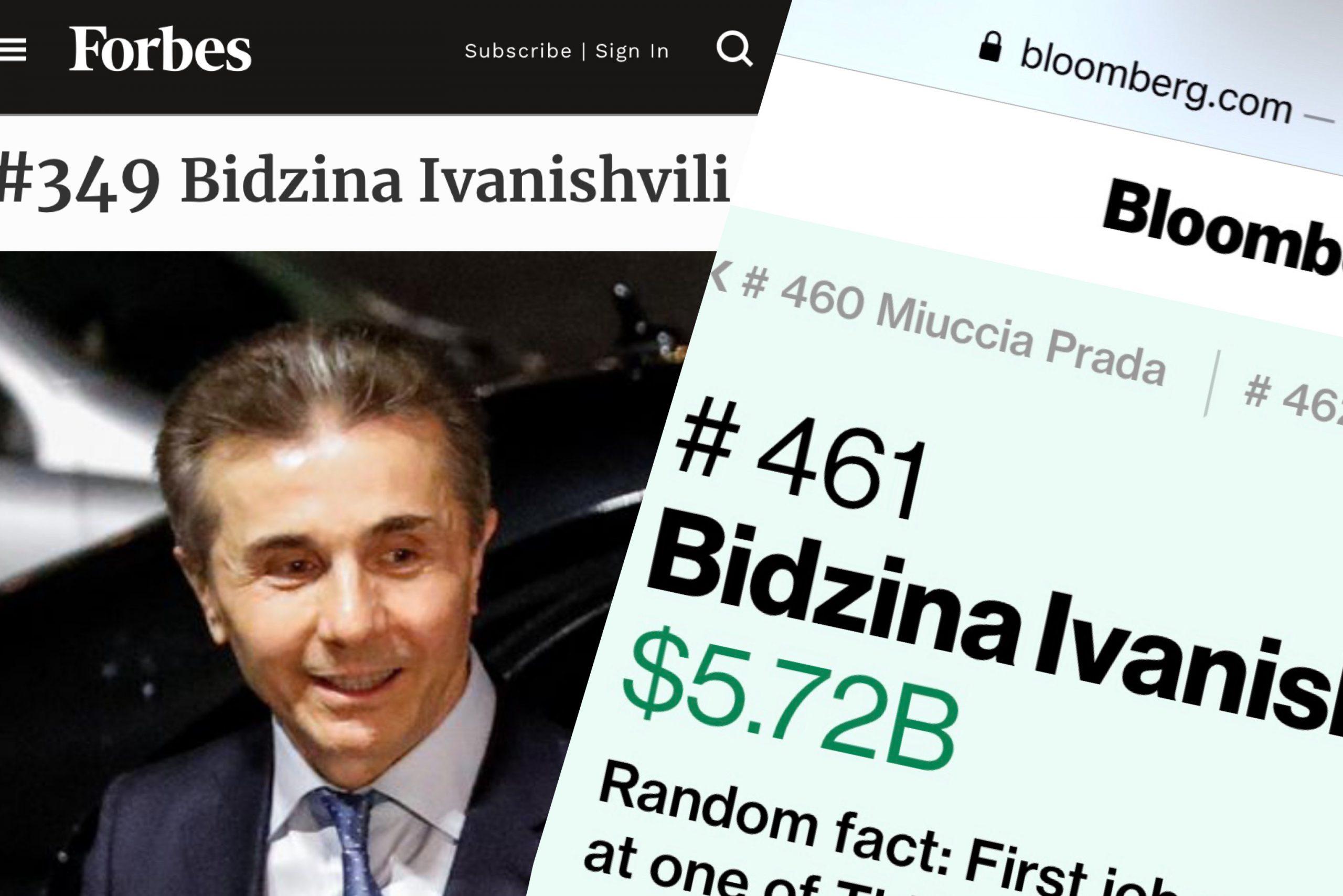 CEFC8FFF BB14 4E29 B9C1 1CEC0501DF51 scaled #политика Bloomberg, featured, Forbes, Бидзина Иванишвили, Форбс