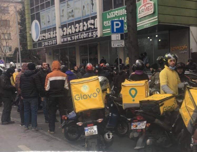 Glovo #новости Glovo, Грузия, служба доставки, Тблиси