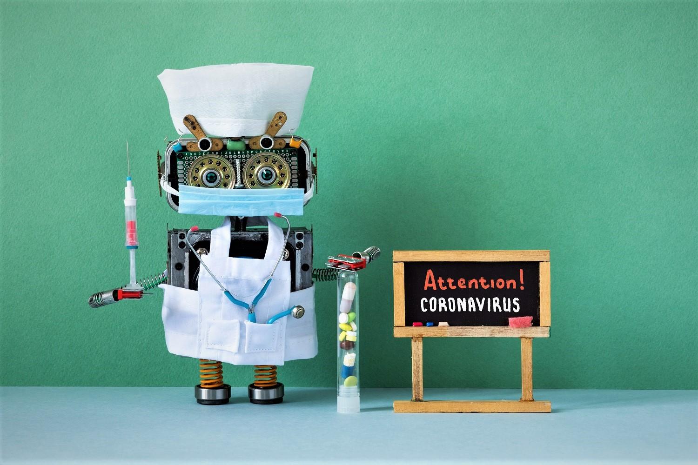 prevention covid 2019 pandemic robot doctor with s V4MCZDM #новости Covid-19, коронавиру в Грузии, коронавирус