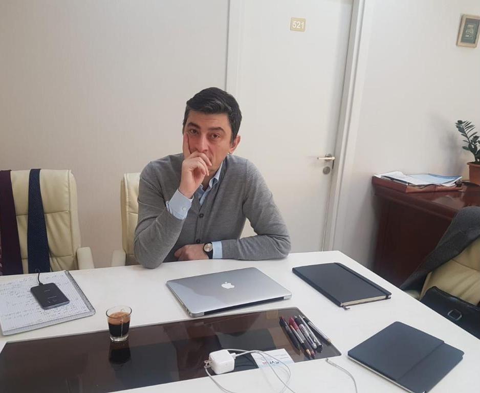 Giorgi Gakharia 2015 #новости Бадри Джапаридзе, Георгий Гахария, Георгий Маргвелашвили, Грузинская мечта, Лело для Грузии