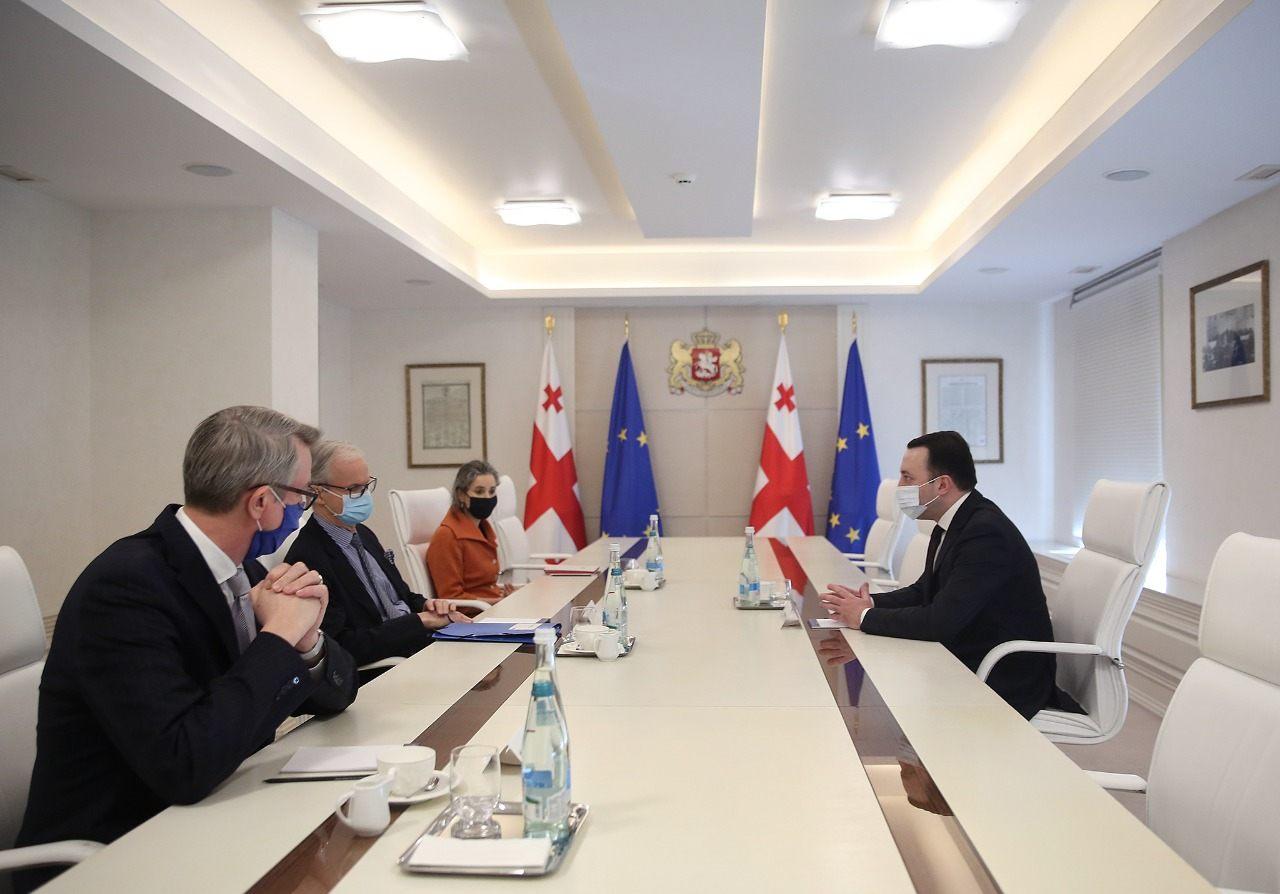danielson gharibashvili #новости Грузия, ес, Ираклий Гарибашвили, кристиан даниельсон, премьер-министр