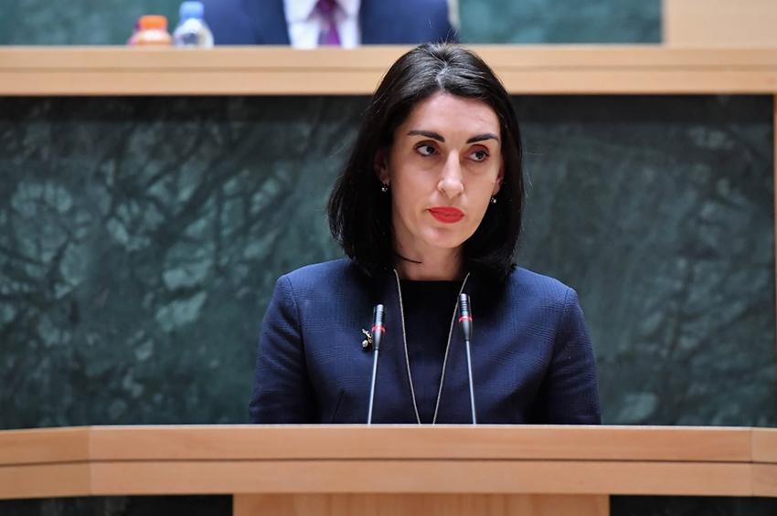 maka bochorishvili #новости виза либерализация, Грузинская мечта, Грузия, евросоюз, Мака Бочоришвили