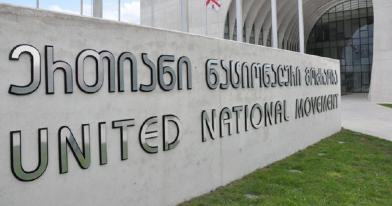 united nation movement #новости Давид Киркитадзе, Единое Национальное Движение