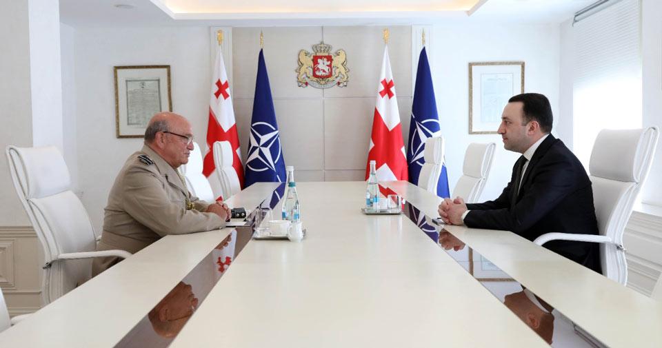 1619679789 1 #новости Грузия-НАТО, Ираклий Гарибашвили, Стюарт Пич