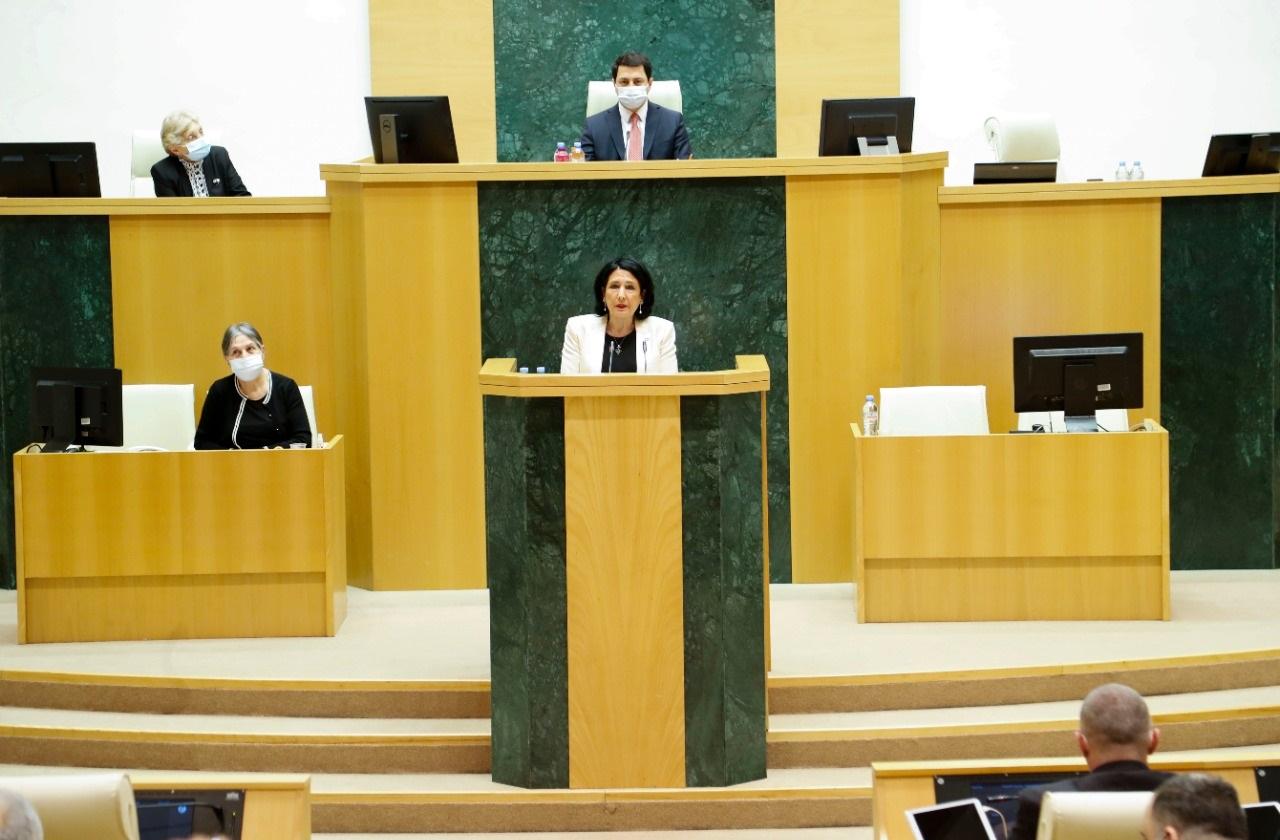 Salome Zourabishvili 322 #новости 9 апреля, кризис Мечты, Намахванская ГЭС, Саломе Зурабишвили