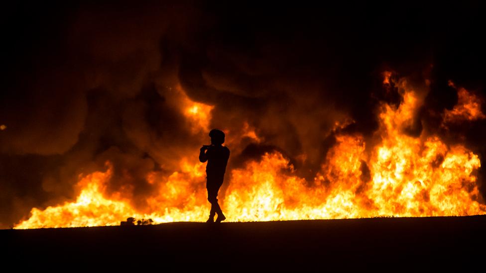 118511955 116134672 gettyimages 1182814974 Новости BBC Израиль, Сектор Газа, фэйкньюс, ХАМАС