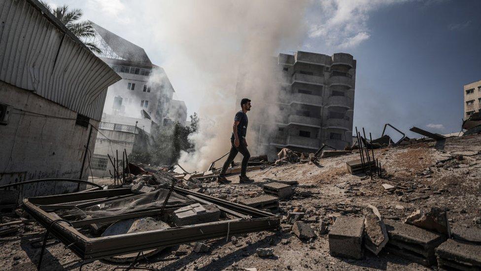 118519652 gettyimages 1232900497 Новости BBC Израиль, Палестина, Сектор Газа, ХАМАС
