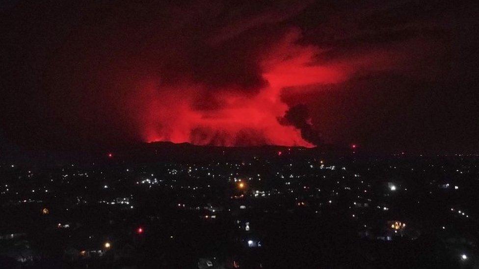 118619267 mediaitem118619266 Новости BBC извержение вулкана, Конго