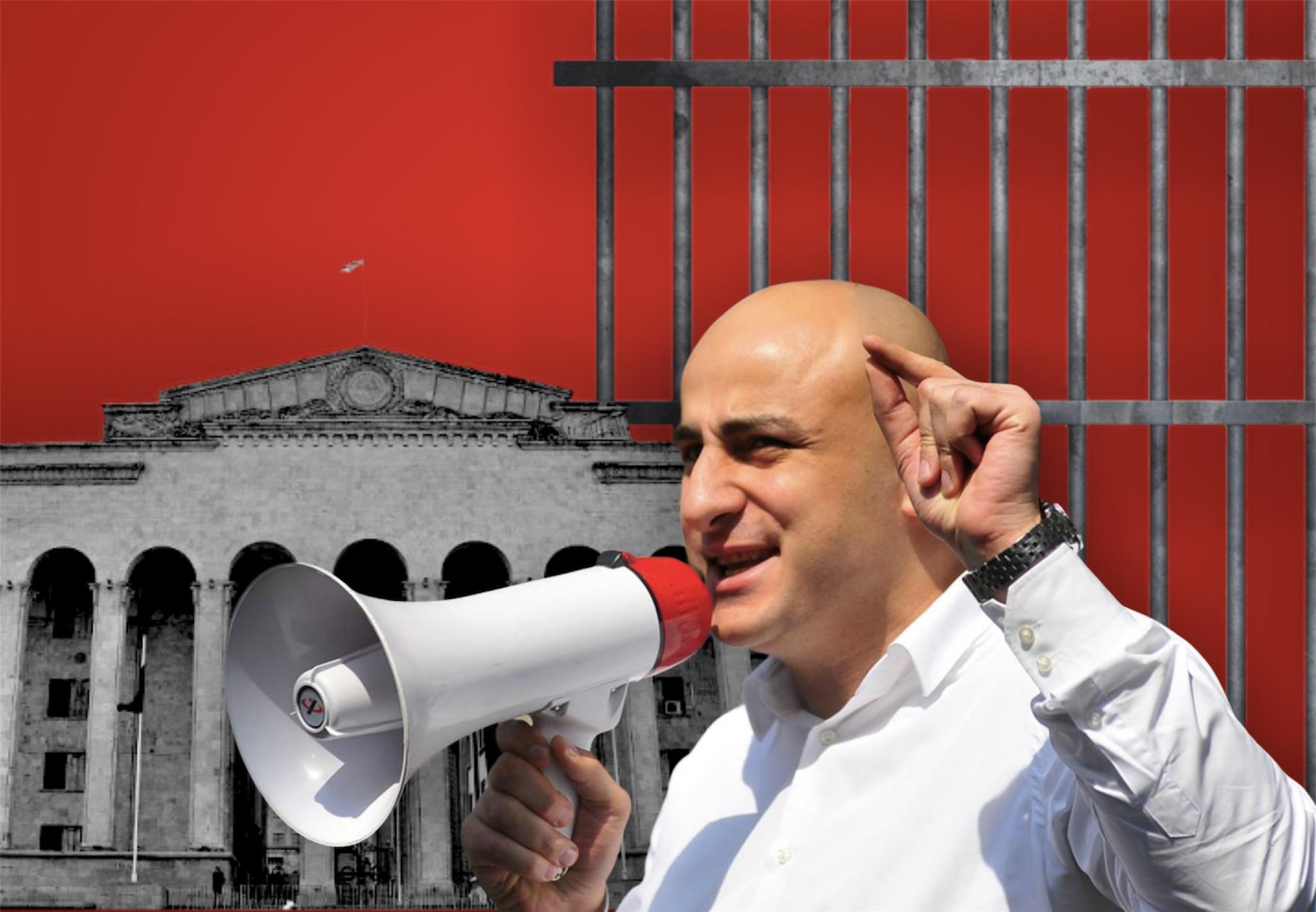 Оппозиционер Ника Мелия на свободе: ожидания и реальность