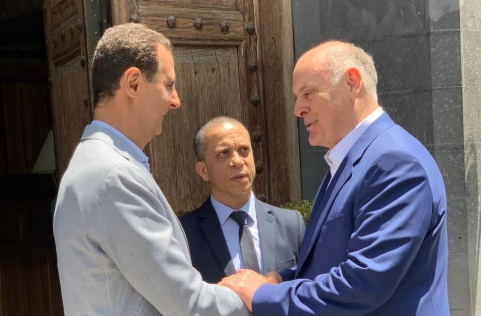 Assad Bzhania #новости Абхазия, Аслан Бжания, Башар Асад, сирия
