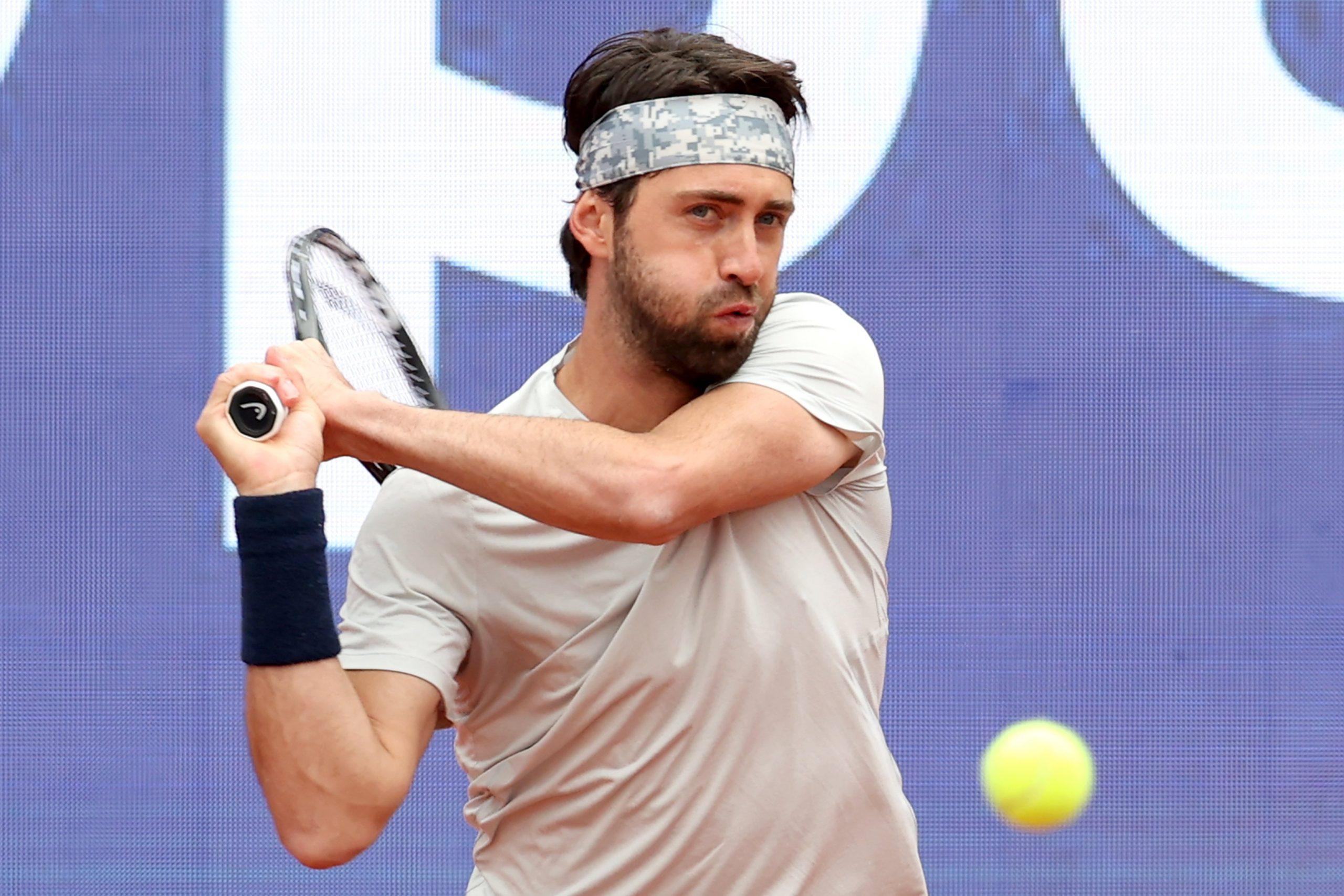 E0YveVIWQAAuYXD scaled #новости грузинский теннисист, Николоз Басилашвили, теннис
