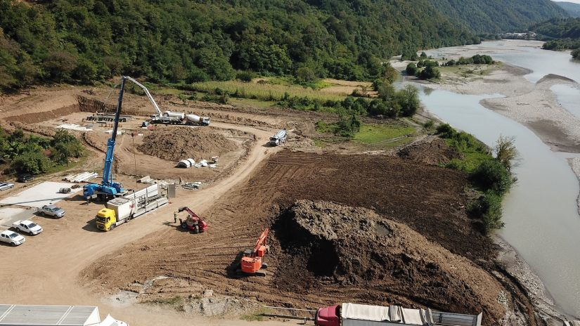 #новости ENKA, Варлам Голетиани, Намахванская ГЭС, ущелье Риони