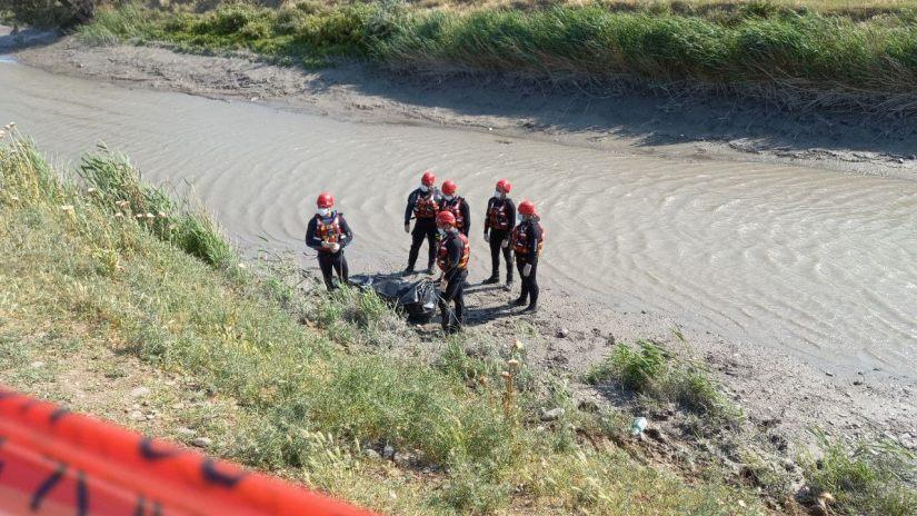 photo 2021 05 30 16 33 08 #новости Рустави, Служба по управлению чрезвычайными ситуациями, утопленник